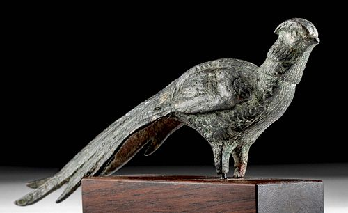 Published & Exhibited Early Byzantine Brass Pheasant