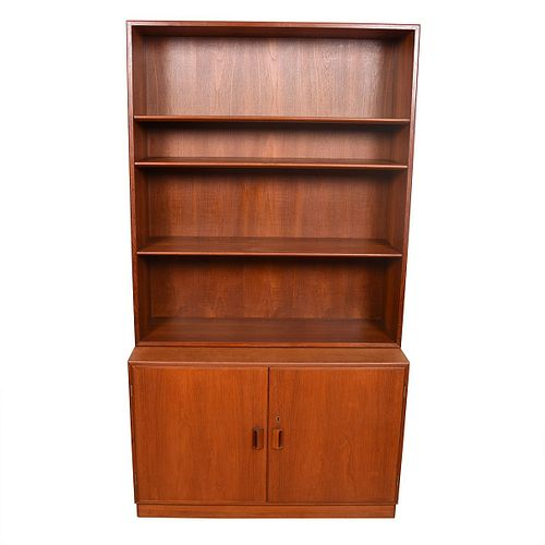 Pair of Borge Mogensen Danish Teak Storage / Bookcase Cabinet