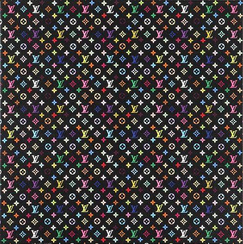Murakami Louis Vuitton Monogram Screenprint