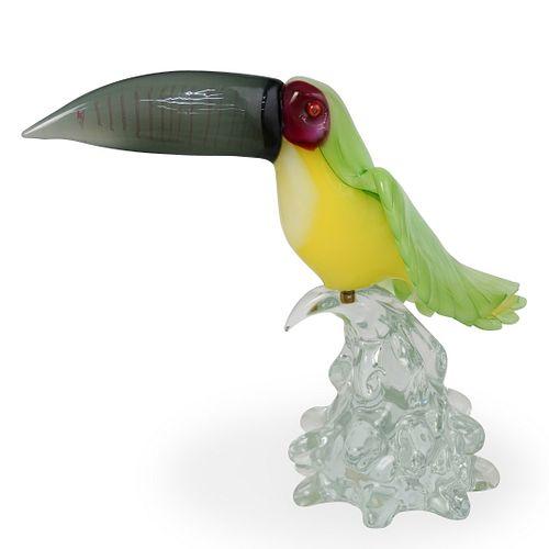 Danilo Zanella Murano Glass Toucan