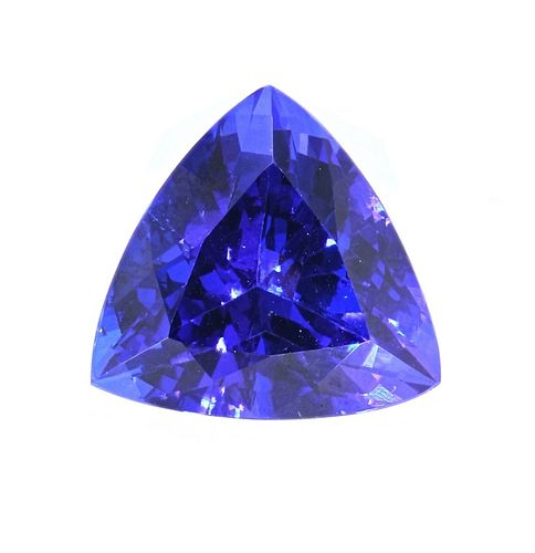 10.74 Tanzanite AAA+ Loose Stone w/ Papers