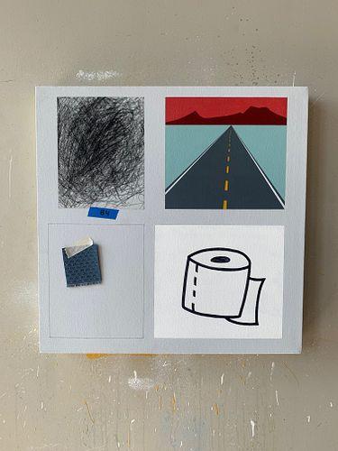 CODY JUSTUS, MFA 14 - Vignette painting #1