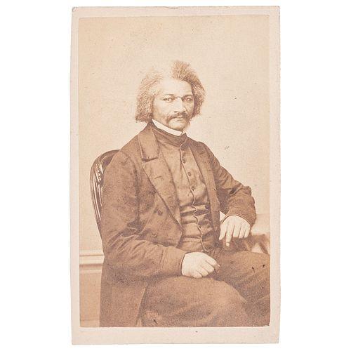 Frederick Douglass CDV by Fassett, circa 1864