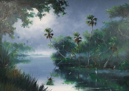 HAROLD NEWTON, Highwaymen Painting