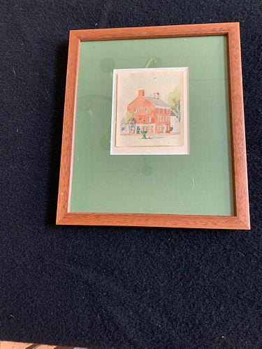"DORIS & RICHARD BEER ""OLD CUSTOM HOUSE"""