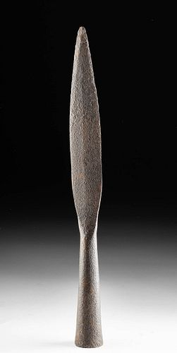 Fine Viking Iron Socketed Spear Tip