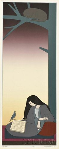 Will Barnet (American, 1911-2012)      The Caller
