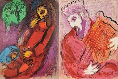 Marc Chagall (Russian/French, 1887-1985)      Illustrations pour la Bible par Marc Chagall