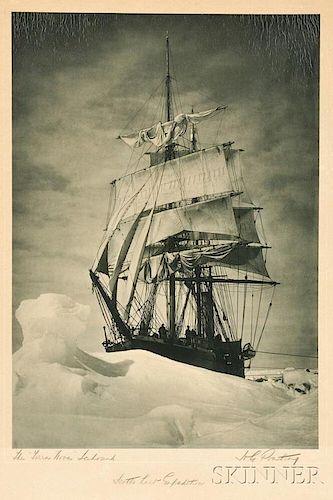 Herbert George Ponting (British, 1870-1935)      The Terra Nova Icebound, Scott's Last Expedition