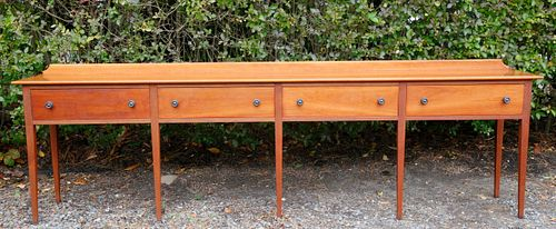 Stephen Swift Cherry Four Drawer Huntboard