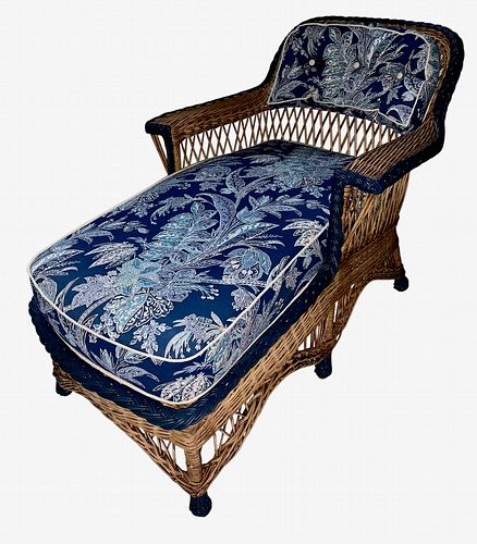 A Bar Harbor Style Chaise Lounge