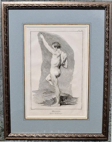 Pair framed Classical Figures