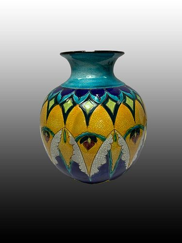 Art Deco Ceramic Vase circa 1940's
