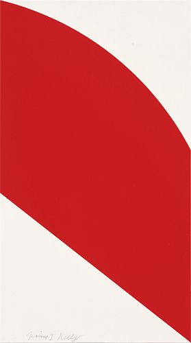 ELLSWORTH KELLY - Red Curve, 2006