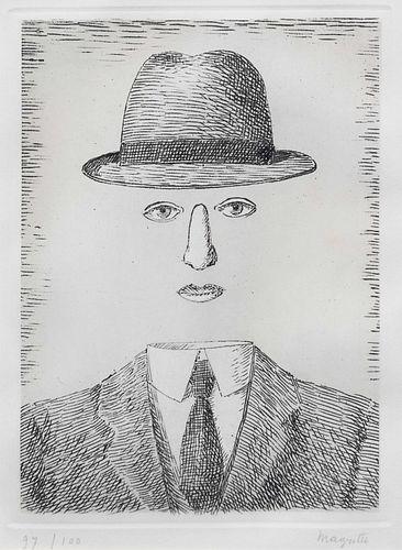 Rene Magritte (Belgian, 1898-1967) Paysage de Baucis, 1966