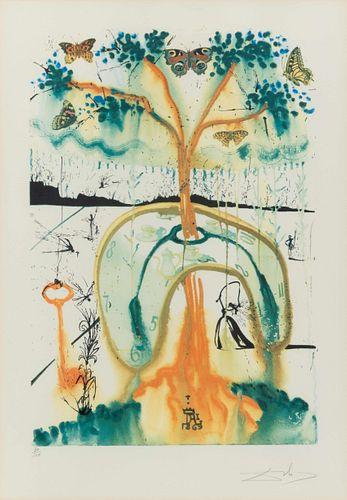 Salvador Dali (Spanish, 1904-1989) Alice's Adventures in Wonderland (complete portfolio of 13), 1969