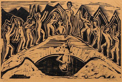 Ernst Ludwig Kirchner (German, 1880-1938) Der Ruhm (Fame), 1924