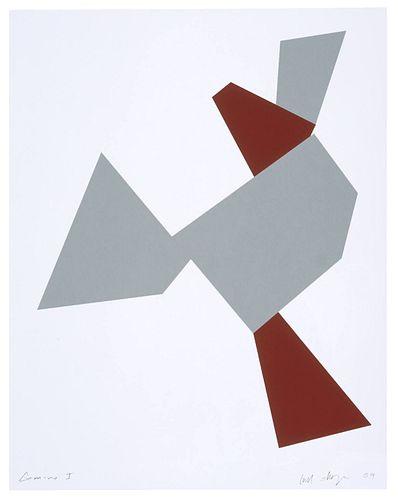 JOEL SHAPIRO -  Boat, Bird, Mother and Child (a)
