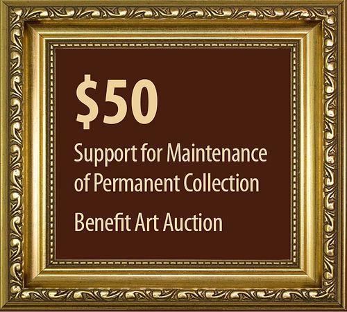 $50 to Support the Permanent Collection