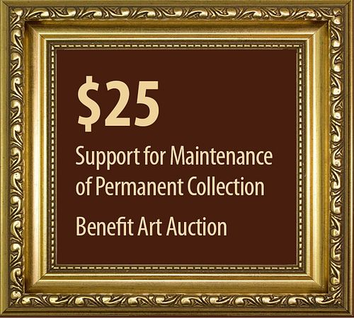 $25 to Support the Permanent Collection