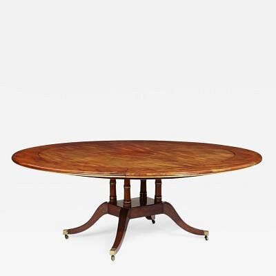 Regency Concentric Dining Table