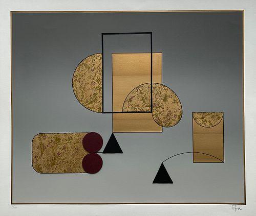 Composición de Manuel Felguérez
