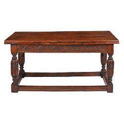 English Drawer Table