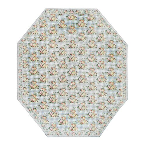 A Stark Hexagonal Carpet 19 feet 7 inches x 17 feet.