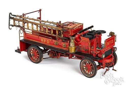 Mechanical model of a Knox fire truck