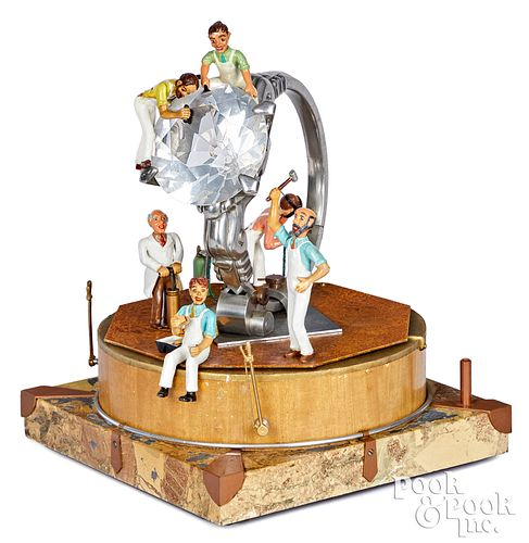 Baranger Studios animated diamond ring display
