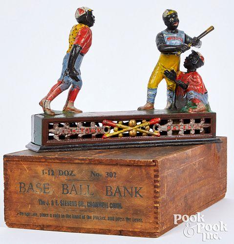 Boxed J. & E. Stevens Darktown Battery bank