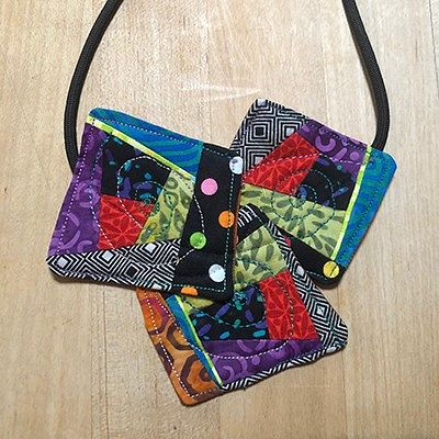 Amy Campbell, Quilty Necklace