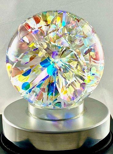 Robert Stephan, Circular Patterned Dichroic Sphere