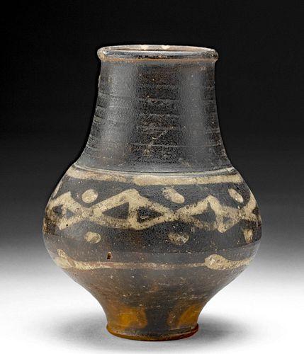 Romano British Bichrome Pottery Jar