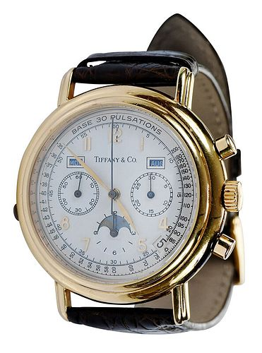 Waldan for Tiffany & Co. Chronograph Watch