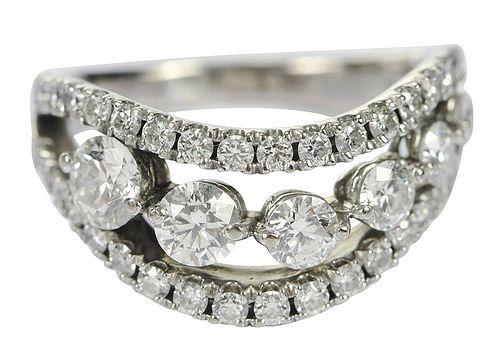 Hearts on Fire 18kt. Diamond Ring