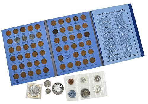 Group of Assorted Coins and Currency