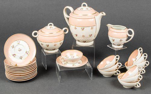 Limoges France Porcelain Tea Service, 26
