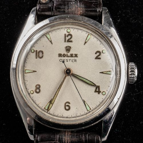 Vintage Rolex Stainless Steel Oyster Watch