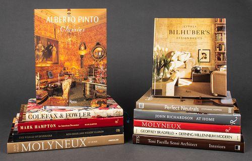 Books On Interior Design and Decorators, 11