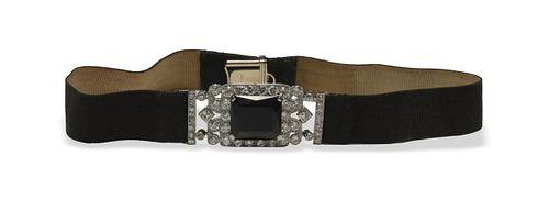 Cartier, 18K Gold Art Deco 6 Carat Diamond Choker