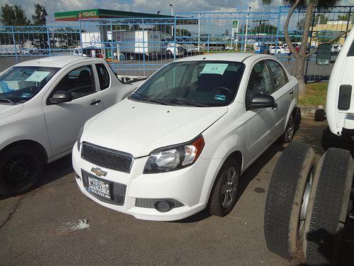 Automovil Chevrolet Aveo 2015