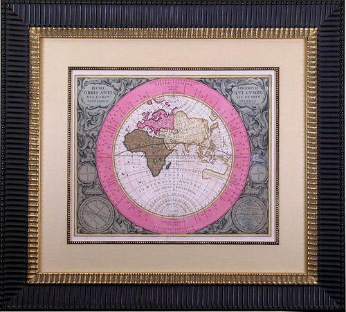 """""""Celestial Atlas of Harmony""""  -  Framed Engraving"""