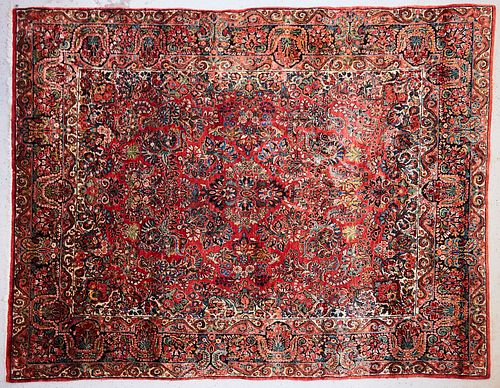 Persian Sarouk Rug Carpet ca. 1930