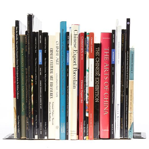 Grp: 28 Books on Chinese Export Ceramics & Art