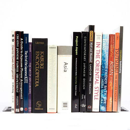Grp: 16 Books on Asian Style & Culture