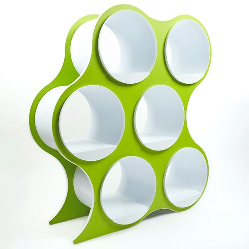 Bolla Pop Scale 1:1 6-Shelf Modern Shelving Room Divider