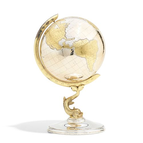 Sterling Silver Table globe