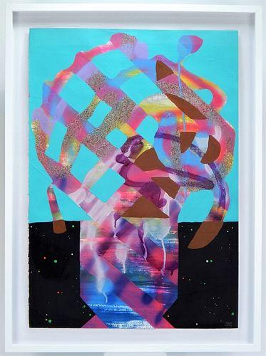 Maya Hayuk The Others Street Art Muralist Painting