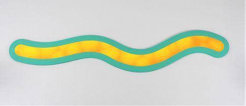 Josh Sperling x Sam Friedman Squiggle Painting